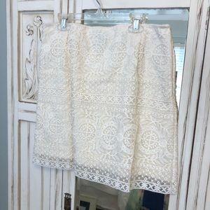 Ivory Skirt!